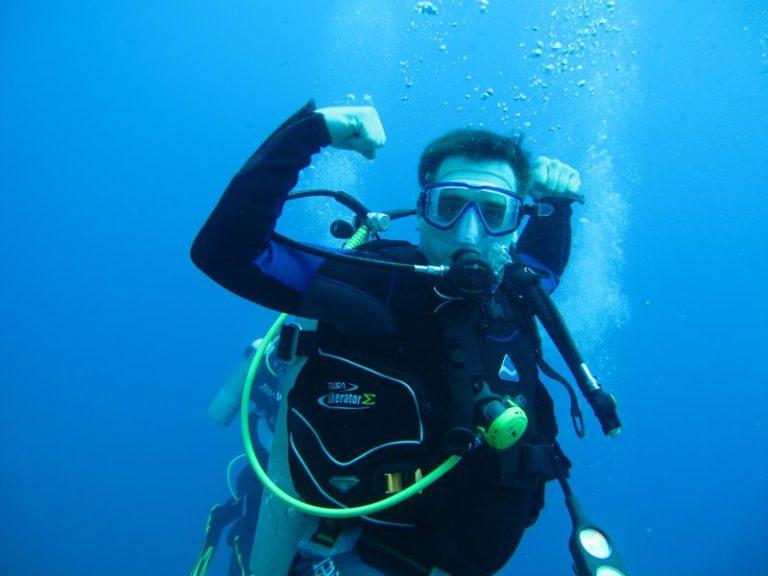 Zużycie powietrza podczas nurkowania 2szkoła nurkowania kraków