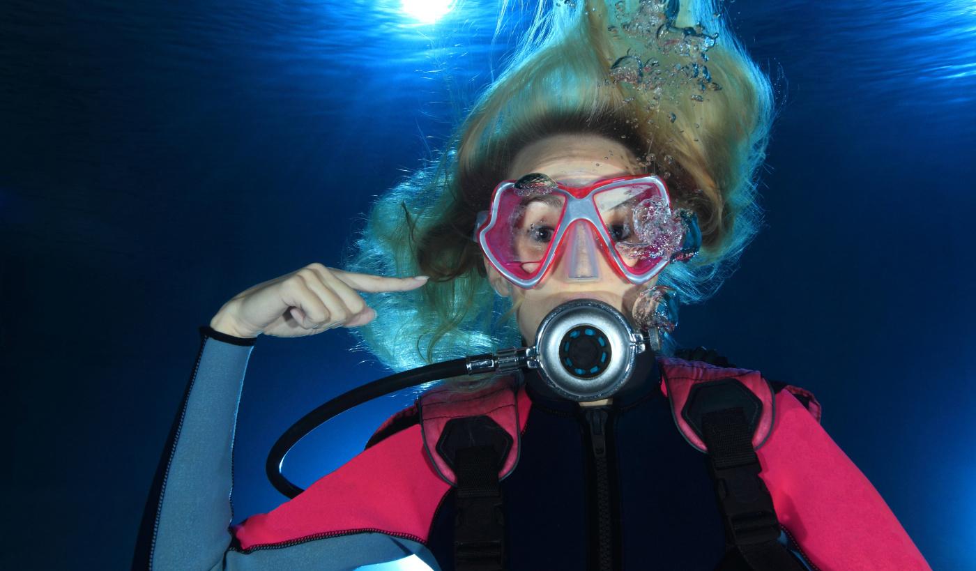 Wyrównywanie ciśnienia podczas nurkowania 6szkoła nurkowania kraków