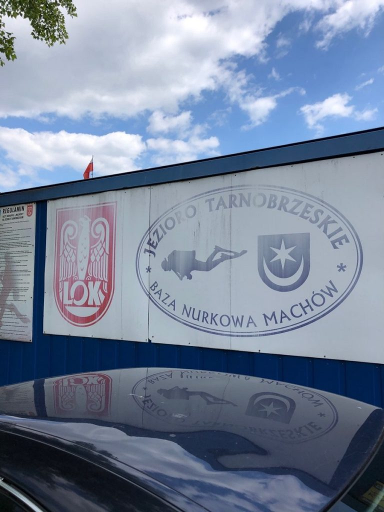 Jezioro Tarnobrzeskie - Baza Nurkowa Machów 7szkoła nurkowania kraków