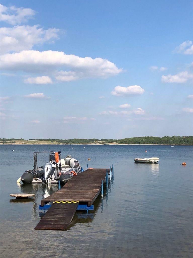Jezioro Tarnobrzeskie - Baza Nurkowa Machów 5szkoła nurkowania kraków