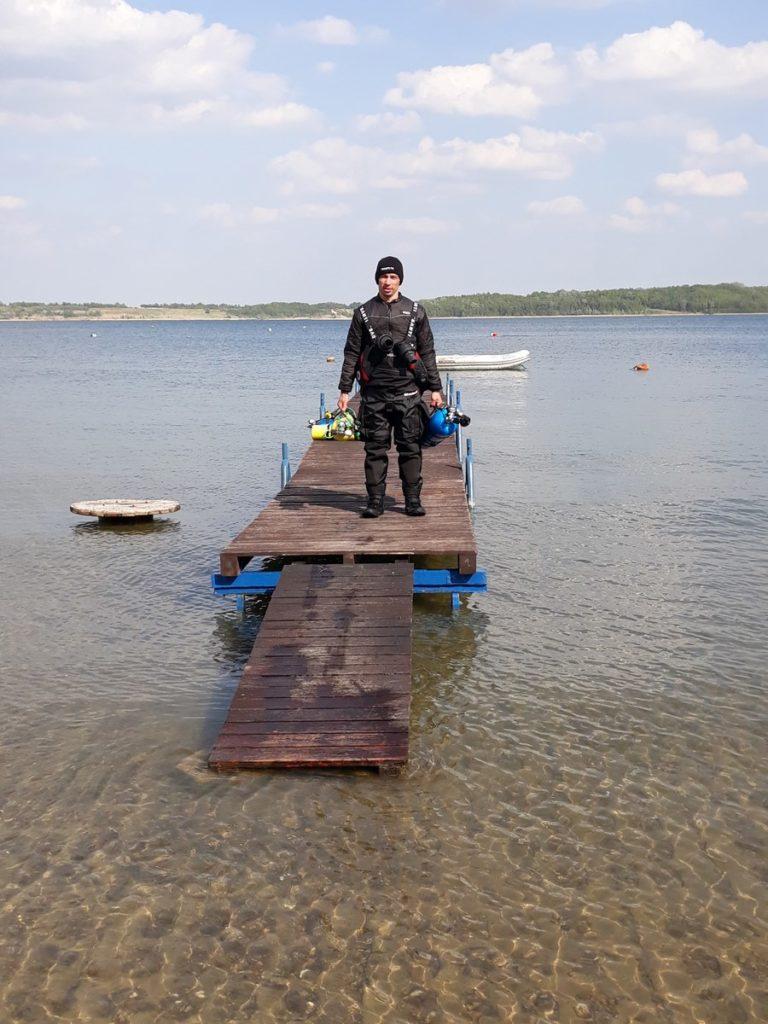 Jezioro Tarnobrzeskie - Baza Nurkowa Machów 6szkoła nurkowania kraków