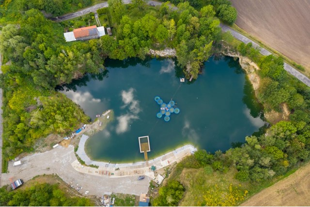 Projekt Kamieniołom. Nowe miejsce nurkowe (powstaje) w Przewornie pod Wrocławiem. 1szkoła nurkowania kraków