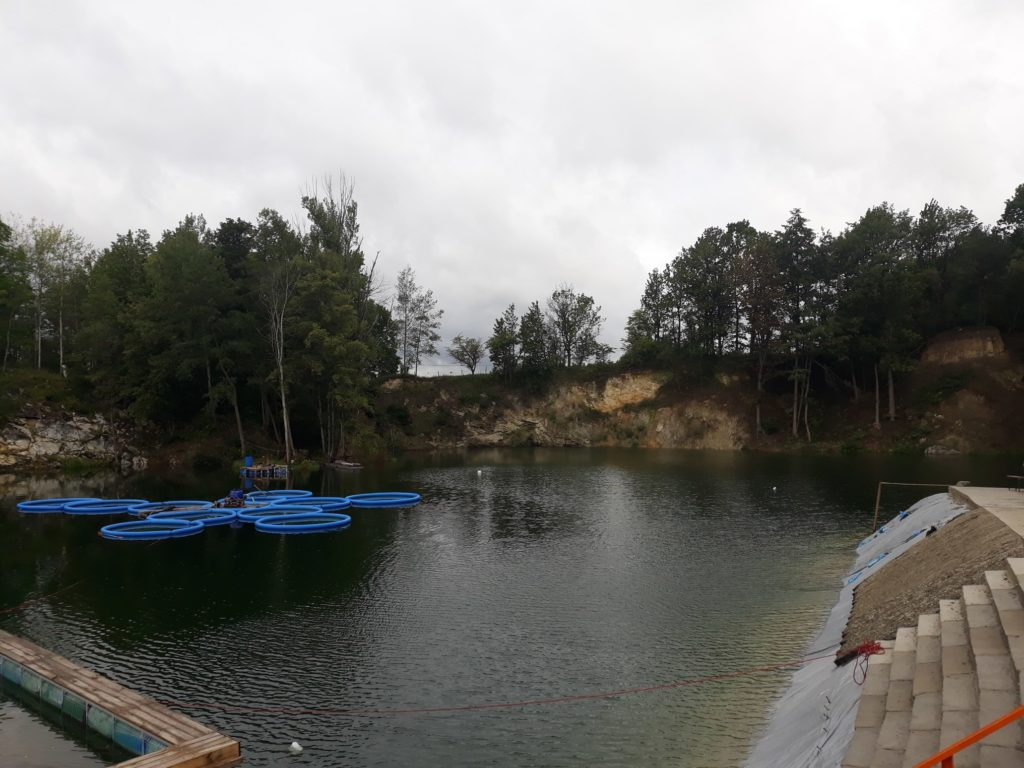 Projekt Kamieniołom. Nowe miejsce nurkowe (powstaje) w Przewornie pod Wrocławiem. 3szkoła nurkowania kraków