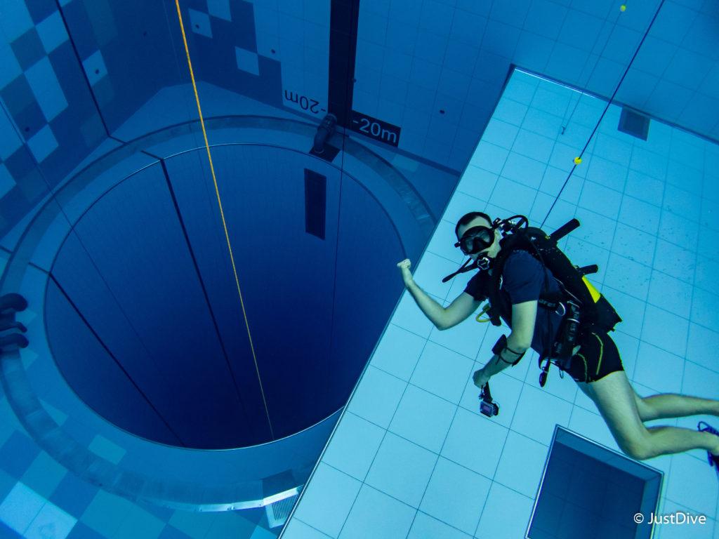 Deepspot nurkowanie w najgłębszym basenie świata 4szkoła nurkowania kraków