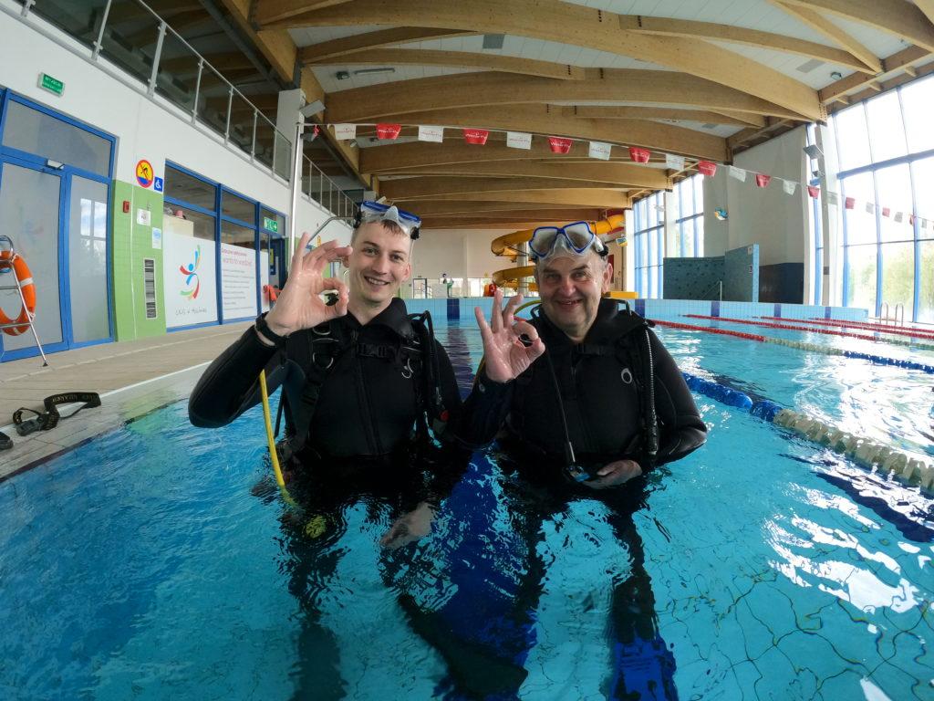 Kurs nurkowania OWD w Deepspot cz. 1 1szkoła nurkowania kraków