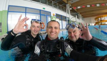 Kurs nurkowania OWD w Deepspot cz. 1
