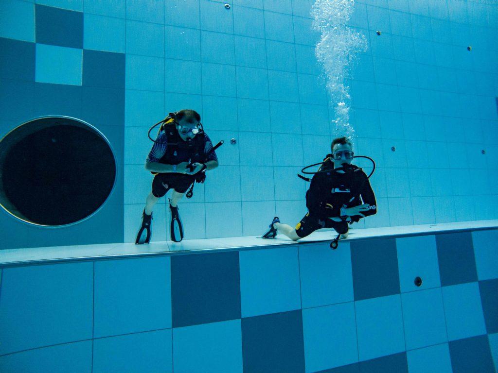 Kurs nurkowania OWD w Deepspot cz.2 3szkoła nurkowania kraków