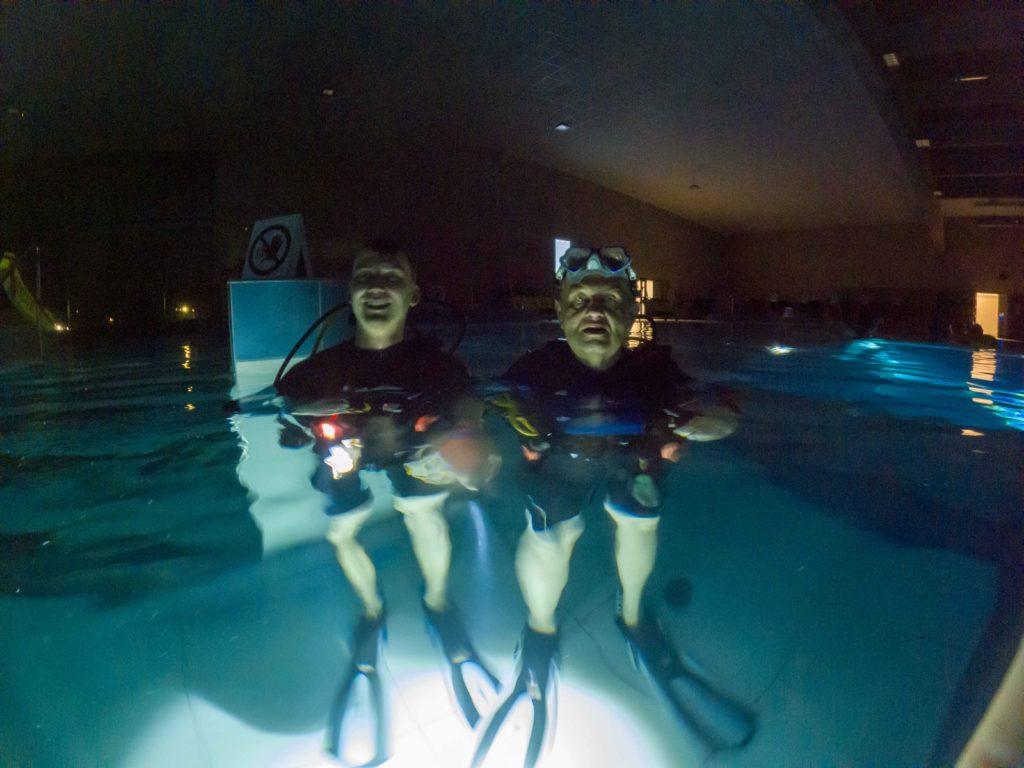 nurkowanie nocne w deepspot